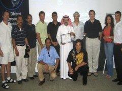 Dubai July 2005 Students