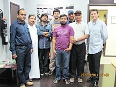 Dubai October 2011 Pro Trader Students
