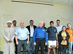 Dubai January 2012 Pro Trader Students