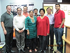 Dubai January 2012 Pro Trader Students