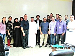 Dubai February 2012 Forex Students