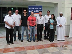 Dubai September 2012 Pro Trader Students