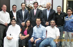 Dubai February 2014 Pro Trader Students