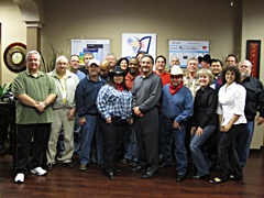 Houston February 2012 Class on Go Texan Day