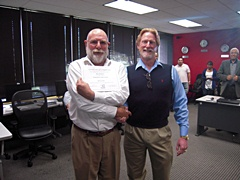 OTA Instructors Roger Best & Mike Mc Mahon