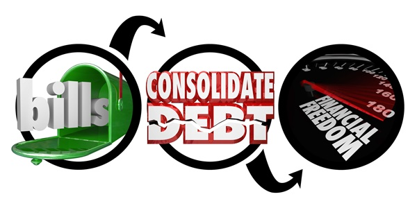 Debt consolidation is a first step to financial freedom, if you get your spending under control.