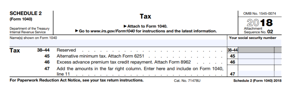 Understanding the New Tax Forms for Filing 2018 Taxes