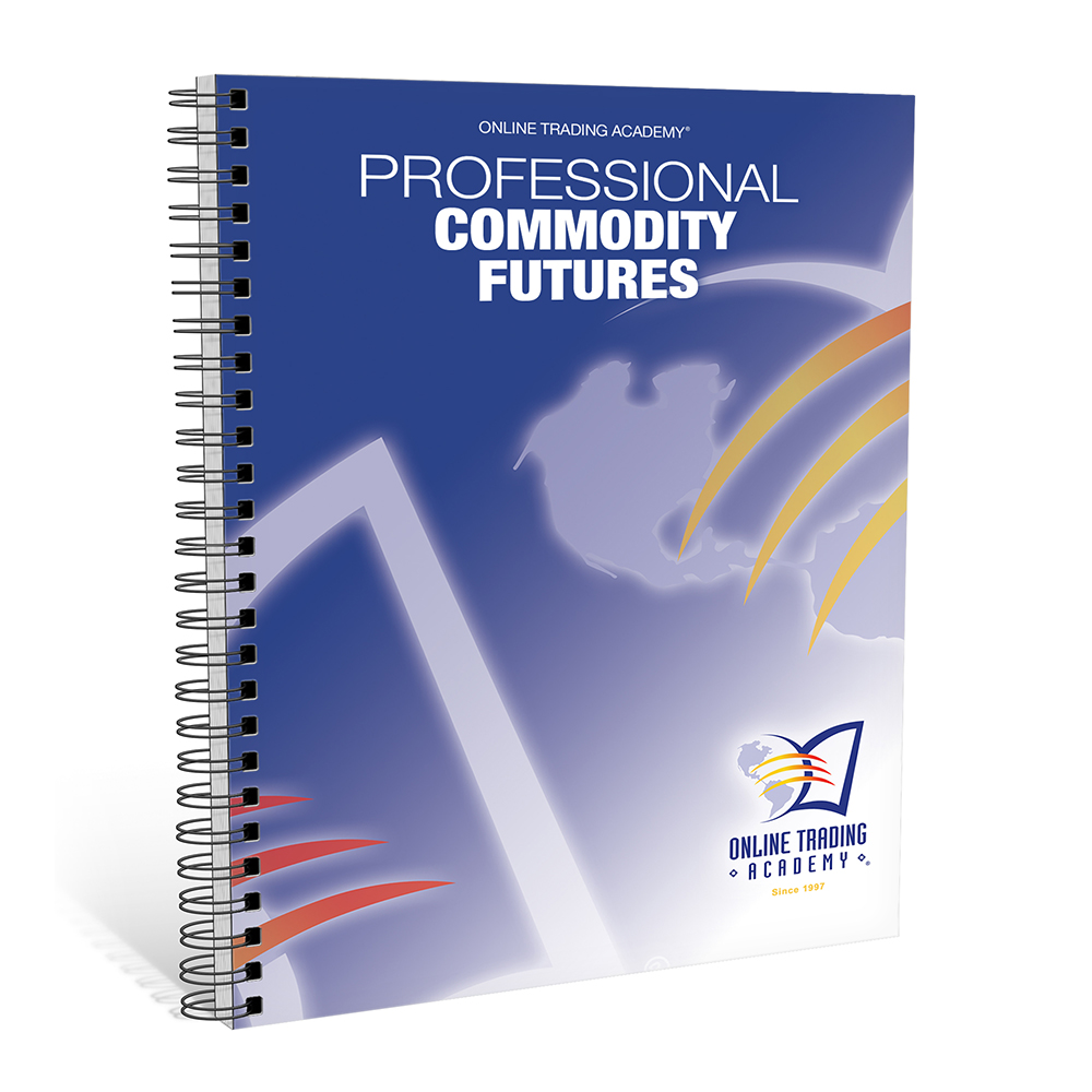Commodity options trading account