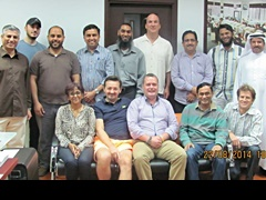 Dubai August 2014 Pro Trader Students
