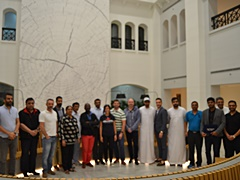 Stock trading students in Dubai