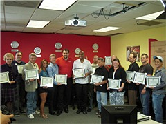 Irvine Irvine August 2010 Pro Trader Students