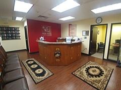 Online Trading Academy Philadelphia's reception area