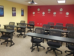 Meeting room at Online Trading Academy Philadelphia