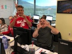 We have the best instructors! Go Utes!