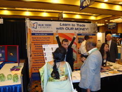 Merline Rothfeld at Money Show Expo